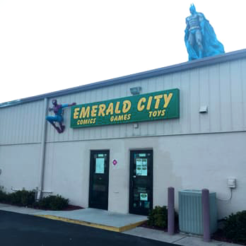 Emerald City Comics, Clearwater, Florida